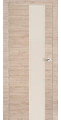 Межкомнатная дверь Z5 капучино кроскут/ перламутровый лак