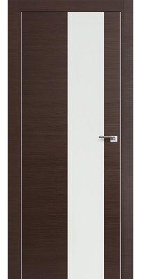 Межкомнатная дверь Z5 венге кроскут/белый лак