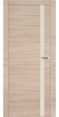 Межкомнатная дверь Z6 капучино кроскут/перламутровый лак