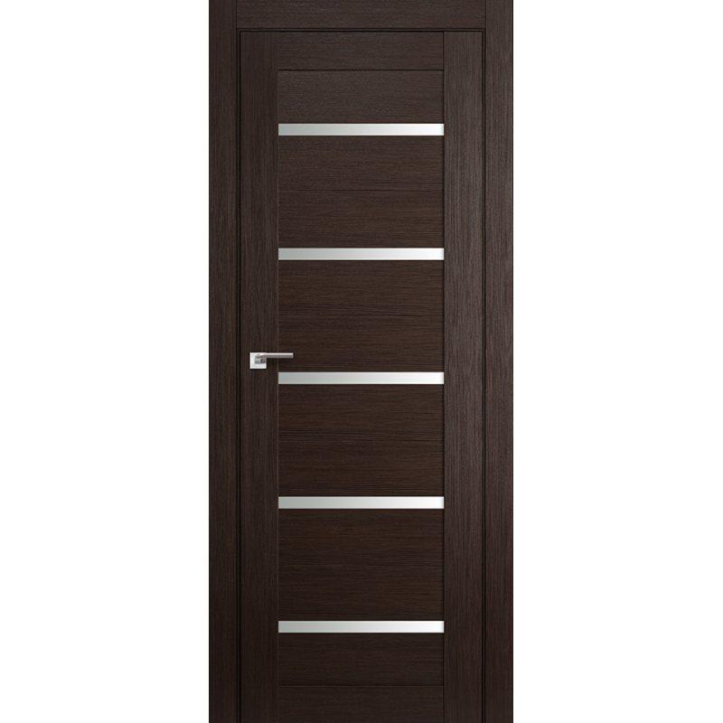 Межкомнатная дверь 7X венге мелинга