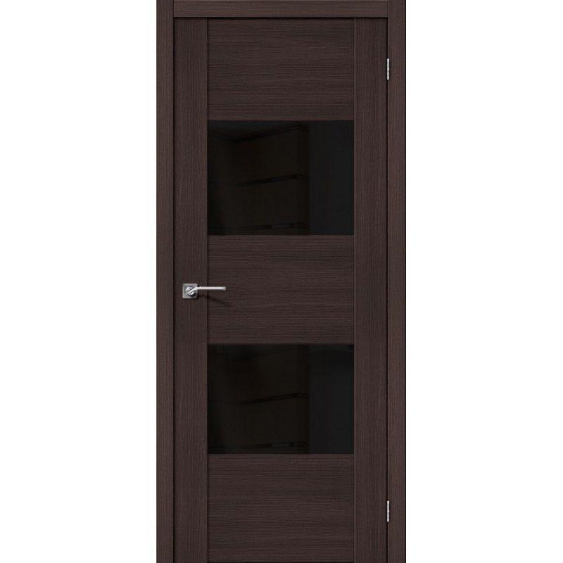 Межкомнатная дверь Vetro VG2 wenge veralinga BS
