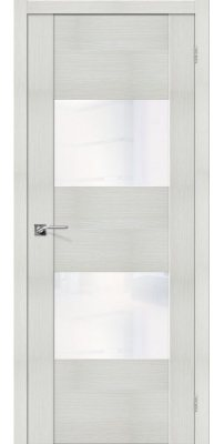 Межкомнатная дверь Vetro VG2 bianco veralinga WW