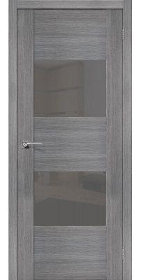 Межкомнатная дверь Vetro VG2 grey veralinga S