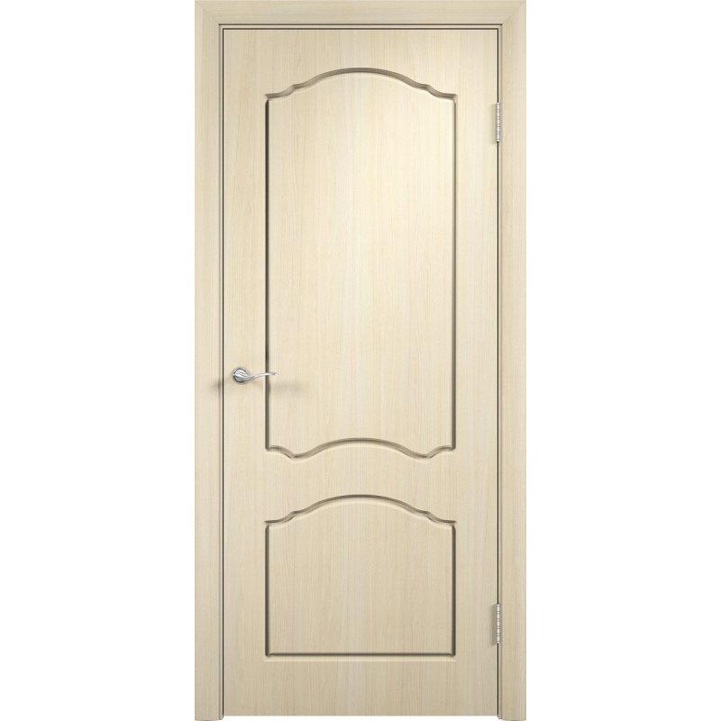 Межкомнатная дверь ЛИДИЯ беленый дуб ПГ