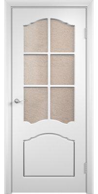 Межкомнатная дверь ЛИДИЯ белая ПО