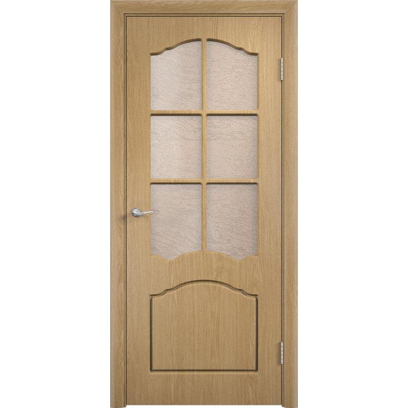 Межкомнатная дверь ЛИДИЯ дуб ПО