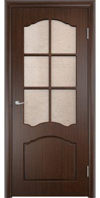 Межкомнатная дверь ЛИДИЯ венге ПО