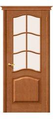 Межкомнатная дверь М7 светлый лак ПО2