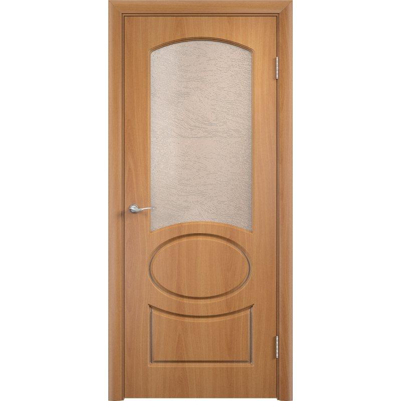 Межкомнатная дверь НЕАПОЛЬ миланский орех ПО