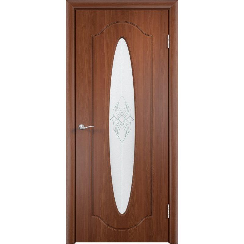 Межкомнатная дверь ОРБИТА итальянский орех ПО