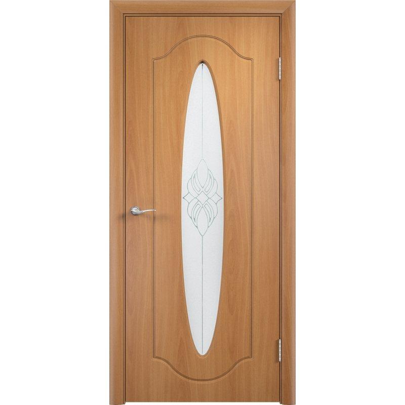 Межкомнатная дверь ОРБИТА миланский орех ПО
