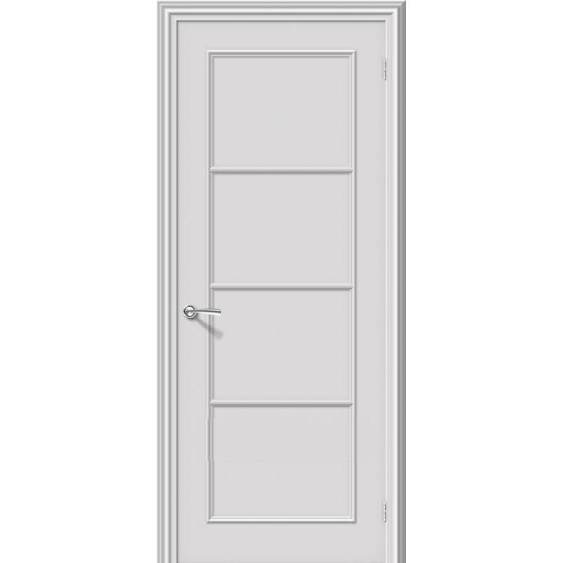 Межкомнатная дверь РИТМ белый ПГ