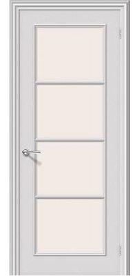 Межкомнатная дверь РИТМ белый ПО