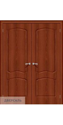 Двустворчатая дверь Альфа-1 italiano vero