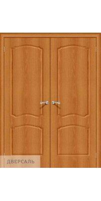 Двустворчатая дверь Альфа-1 milano vero