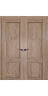 Двустворчатая дверь 2.41XN солинас светлый, глухая