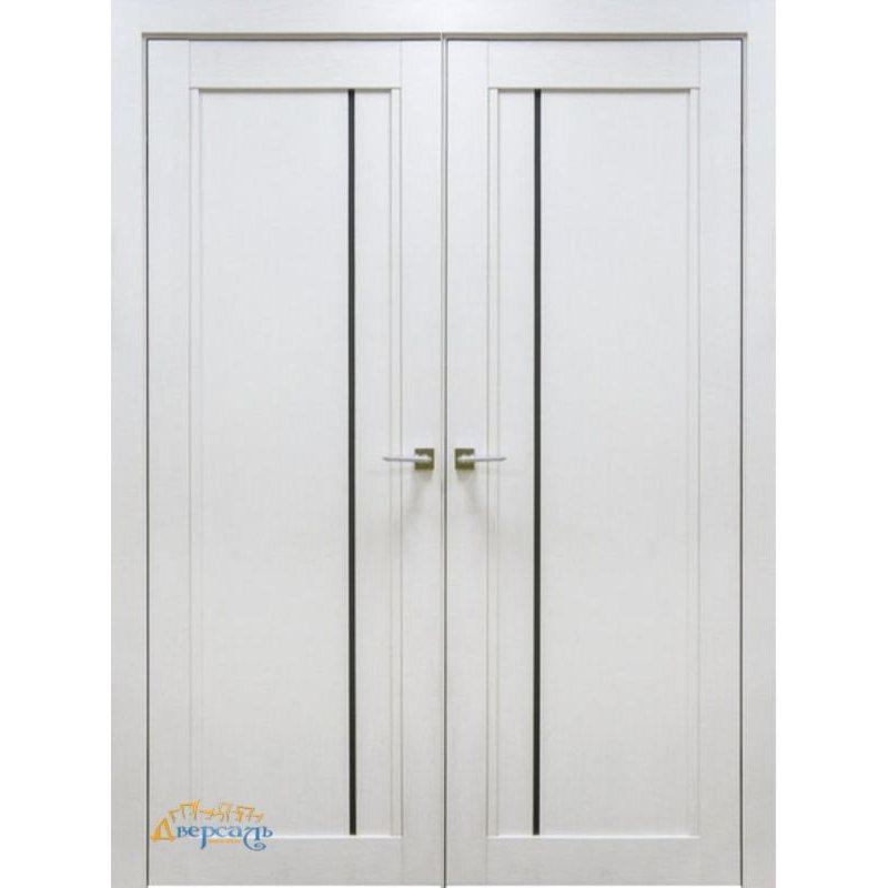 Двустворчатая дверь 2.70XN монблан, стекло матовое