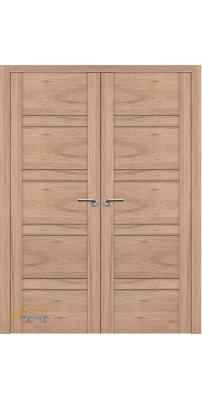 Двустворчатая дверь 2.80XN солинас светлый, стекло матовое
