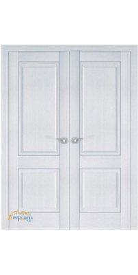 Двустворчатая дверь 2.87XN монблан, глухая