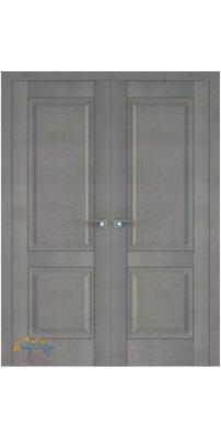 Двустворчатая дверь 2.87XN стоун, глухая