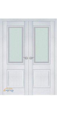 Двустворчатая дверь 2.88XN монблан, стекло neo
