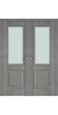 Двустворчатая дверь 2.88XN стоун, стекло neo