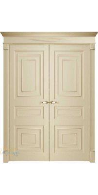 Двустворчатая дверь Florence 62001, серена керамик ПГ