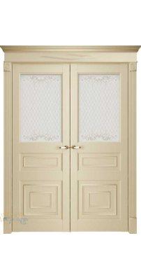 Двустворчатая дверь Florence 62001, серена керамик ПО
