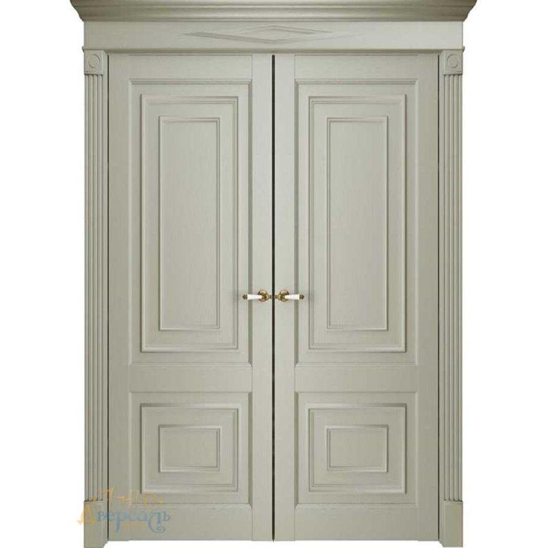 Двустворчатая дверь Florence 62002, серена керамик ПГ