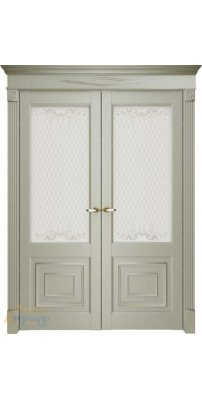 Двустворчатая дверь Florence 62002, серена керамик ПO