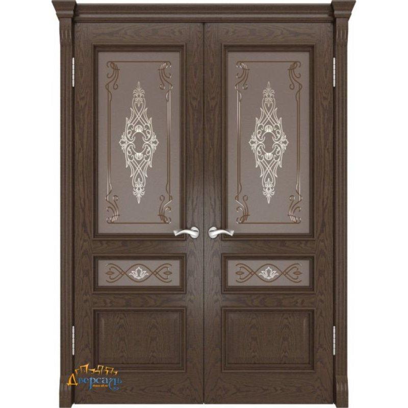 Двустворчатая дверь ГЕРА-2 mistick ПО