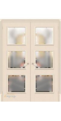 Двустворчатая дверь КЛАССИКО-17.3 ivory
