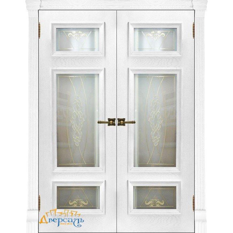 Двустворчатая дверь МАДРИД perla ПО