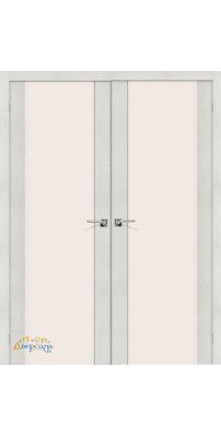 Двустворчатая дверь ПОРТА-13 bianco veralinga