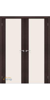 Двустворчатая дверь ПОРТА-13 wenge veralinga