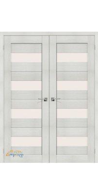 Двустворчатая дверь ПОРТА-23 bianco veralinga