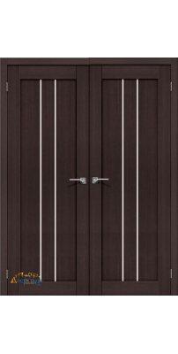 Двустворчатая дверь ПОРТА-24 wenge veralinga