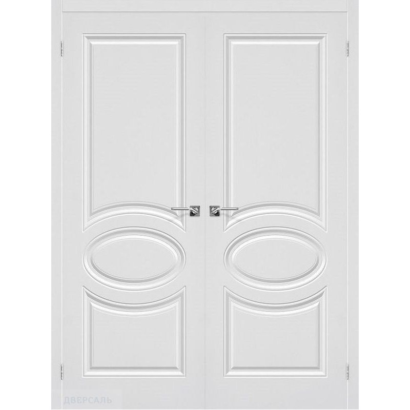 Двустворчатая дверь СКИННИ-20 белый