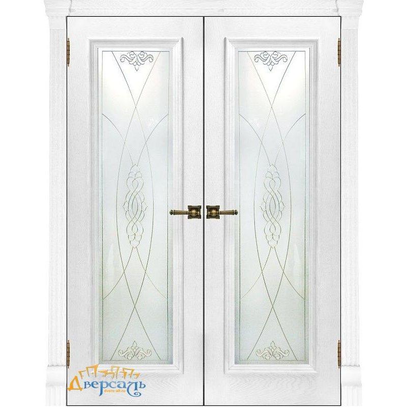 Двустворчатая дверь ТОСКАНА perla ПО