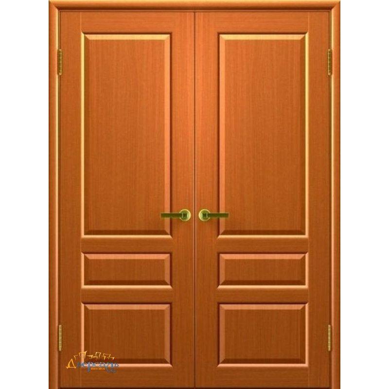 Двустворчатая дверь ВАЛЕНТИЯ 2 светлый анегри ПГ