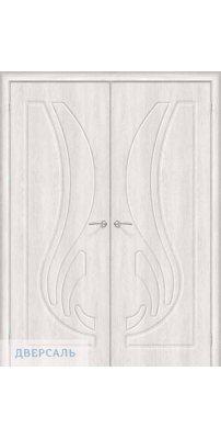 Двустворчатая дверь Лотос-1 casablanca