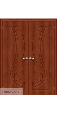 Двустворчатая дверь Лотос-1 italiano vero