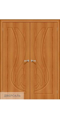 Двустворчатая дверь Лотос-1 milano vero