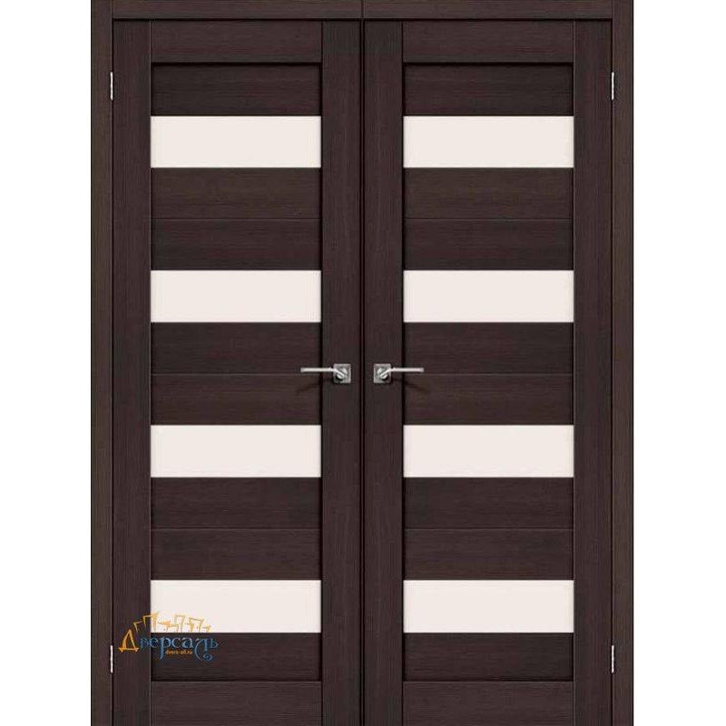 Двустворчатая дверь ПОРТА-23 wenge veralinga