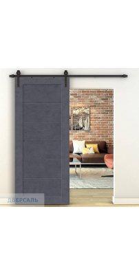 Амбарная дверь ЛЕГНО-21 graphite art