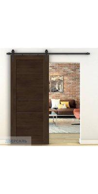 Амбарная дверь ЛЕГНО-22 dark oak