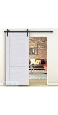 Амбарная дверь ЛЕГНО-22 milk oak