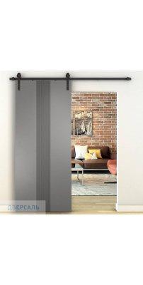Амбарная дверь СЕВИЛЬЯ 16 софт графит