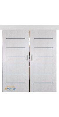 Двойная раздвижная дверь 2.07XN монблан, глухая