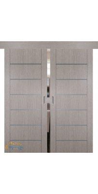 Двойная раздвижная дверь 2.07XN стоун, глухая